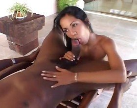 Hungry Cock Sucking Latina Slut