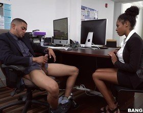 Hot Ivy Young Fucked In The Office