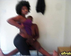 Ugly african lesbians fuck a